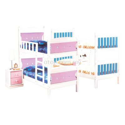 Atop ATN 02P-DD & ATN 01B-DD Double Decker Bed Frame