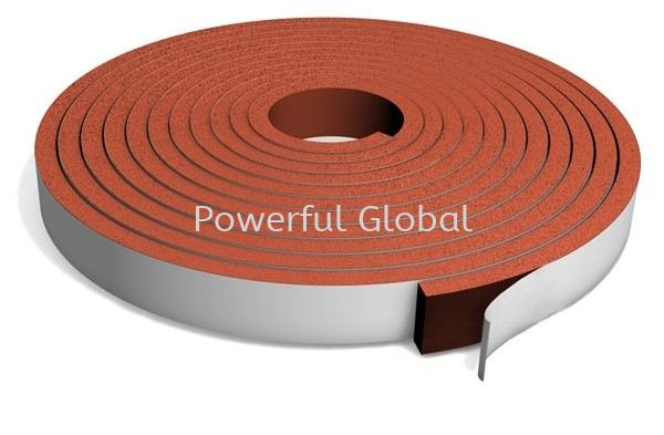 Red Silicone Sponge Strip Silicone Rubber Sheet /Gasket