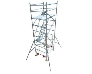 Double Width Build Now Tower with Easy Access Stairs