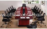D 288 BOAT SHAPE CONFERENCE TABLE GRAND CONFERENCE TABLE Conference Table