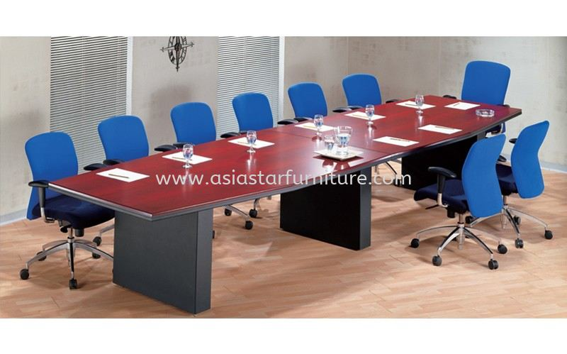 D 202 BOAT SHAPE CONFERENCE TABLE
