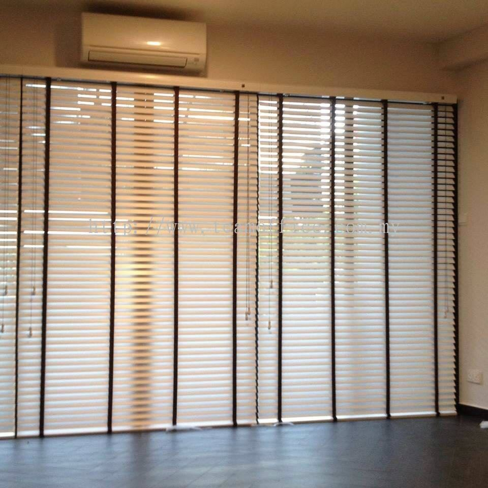 Wooden Blinds Idea Wooden Blinds Curtain & Funishing