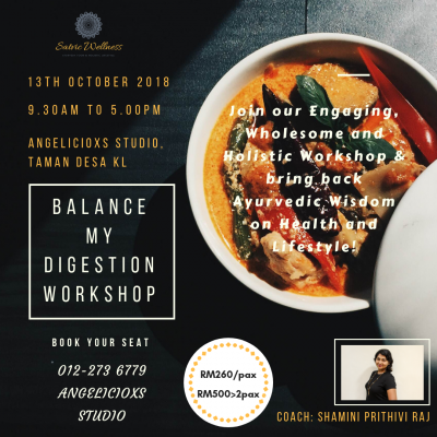 Ayurveda Diet- Balance My Digestion