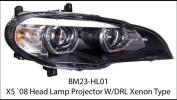 X5 E70 Headlamp projector w/drl xenon type  X series X5 E70 BMW