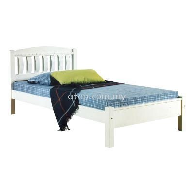 Atop ATN 8388WH Super Single Bed Frame