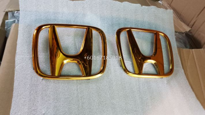 2014 2015 2016 2017 2018 2019 2020 honda jazz fit gk gold logo add on upgrade performance look abs material new set
