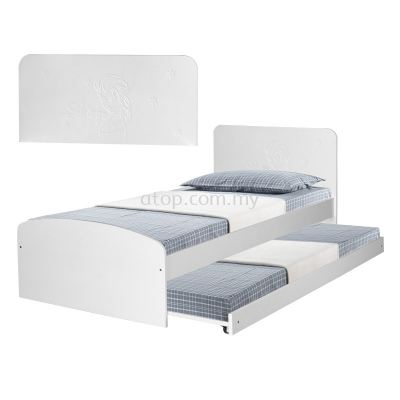 Atop ATN 8348WH Super Single Bed Frame