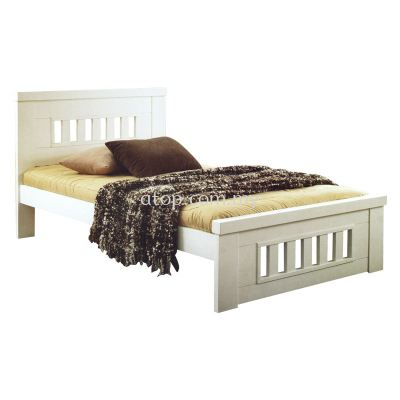 Atop ATN 8355WH Super Single Bed Frame