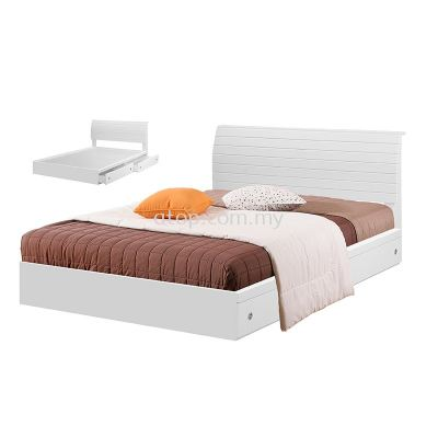 Atop ATN 8617WH King Size Bed Frame