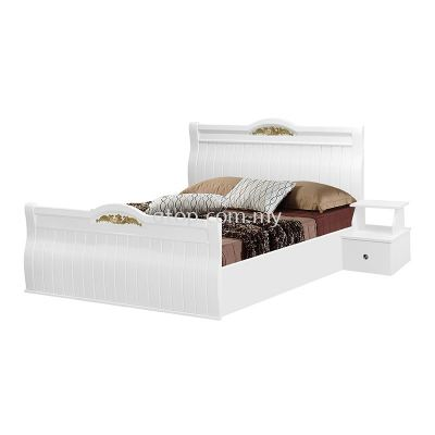 Atop ATN 8623WH King Size Bed Frame