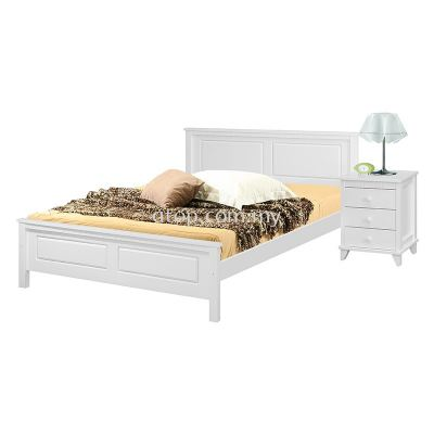 Atop ATN 8631WH King Size Bed Frame