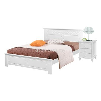 Atop ATN 8632WH King Size Bed Frame