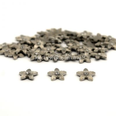 Iron On Metal, Code 18-09#, 8# Silver, 50pcs/pack