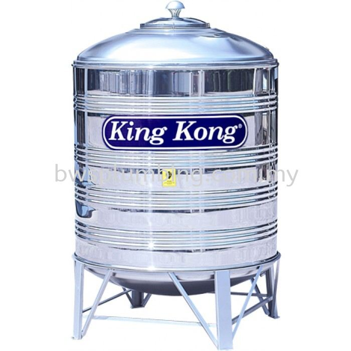 King Kong Stainless Steel Water Tank Malaysia HR 300 (3000 Litres / 670 Gallons) King Kong HR Cold Water Tank