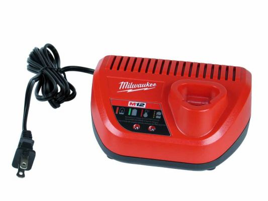 Red Lithium-Ion Battery Charger