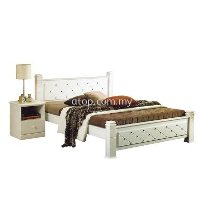 Atop ATN 957WH Bed Frame