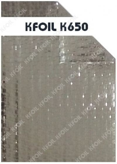 (K650) D/S Reflective Metalized Woven Film