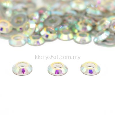 Signature PLUS, Special Shape, Code 831# Cosmic Ring Flat Back, 8mm, Crystal AB