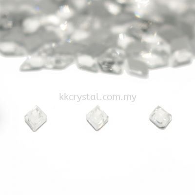 Signature PLUS, Special Shape, Code 832# Diamond Shape Flat Back, 3.9*6.6mm, Crystal