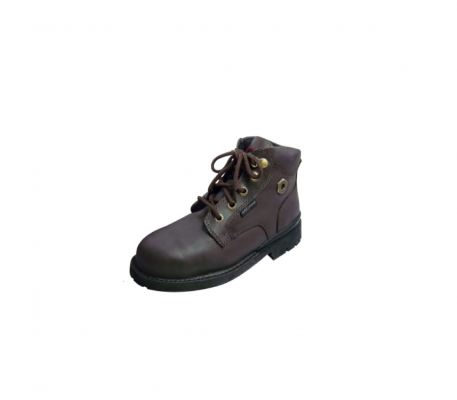 Black Hammer BH4660 4000 Series Mid Cut Lace Up Safety Shoes