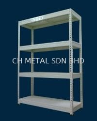 Simple Metal Rack (150-200kgs & Shelve)