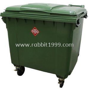 OTTO MOBILE GARBAGE BIN - 1100 Litres