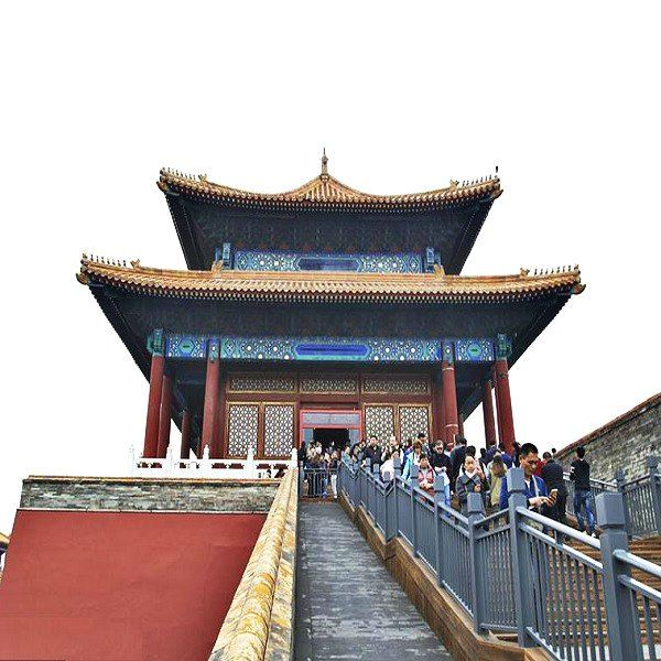 Tourist attracted to visit 1st opened 3 walls of The Imperial Palace TravelNews