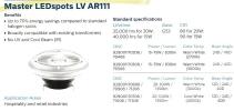 Master LEDspots LV AR111 LED Spots LED Lighting