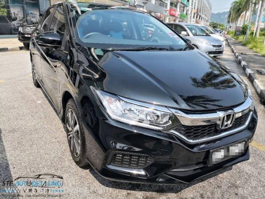 Honda City Apply STE PREMIUM COATING For Longlast Paintwork Protection