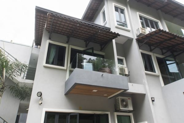 Balcony Frameless Glass Railing