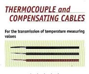 Thermocouple and Compensating Cables