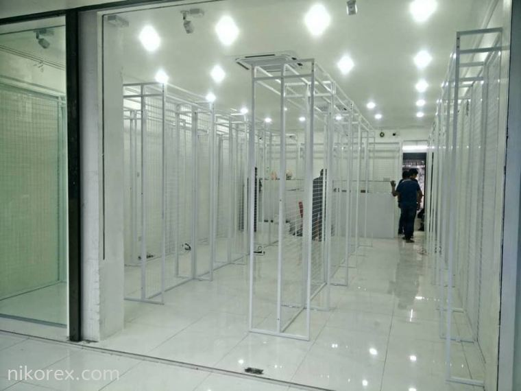 Project custom made i-std net rack at ipoh