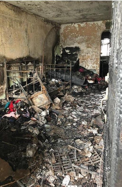 Woman flees Indus Road flat fire, 150 residents self-evacuated