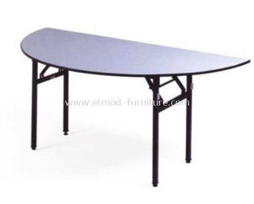 Foldable Half Round Banquet Table