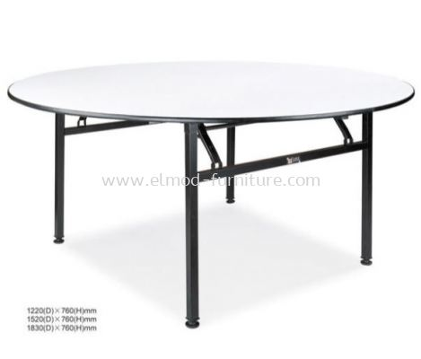 Foldable Round Banquet Table