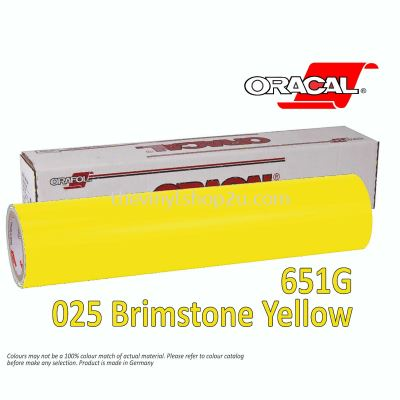 ORACAL® 651 INTERMEDIATE CAL - G025