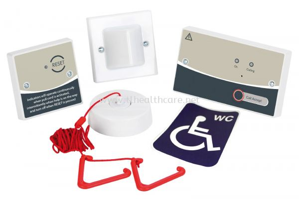 OKU Emegency Disable Toilet Call Bell System wired bathroom