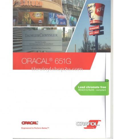 ORACAL® 651 INTERMEDIATE CAL VINYL CATALOG -