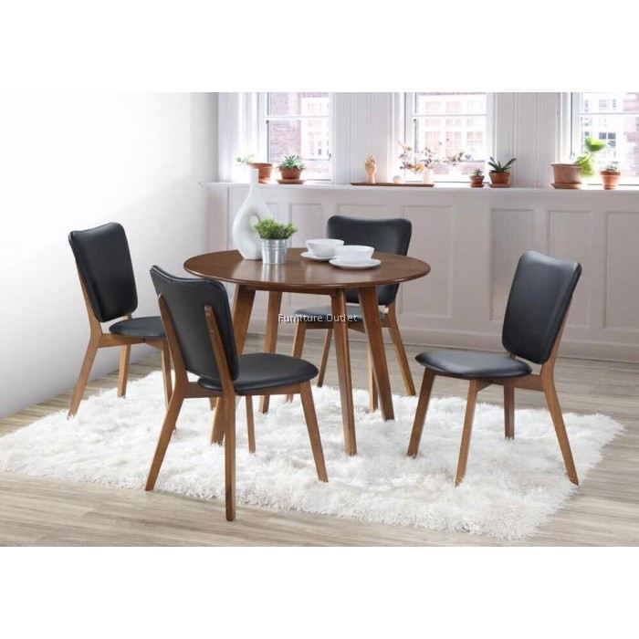 Marble Coffee Table In Singapore: MOLLA ROUND DINING SET (1+4) MALAYSIA DINING SET 1+4