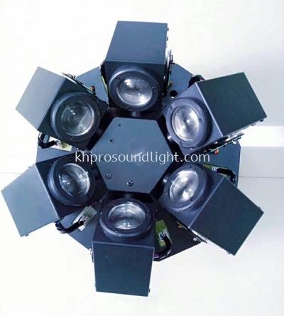LED Effect 6 X 12W Moving