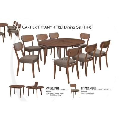 CARTIER PANDORA / TIFFANY DINING SET (1+8) MALAYSIA
