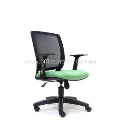 UMAX LOW BACK MESH CHAIR WITH POLYPROPYLENE BASE ASE 2774
