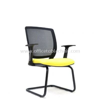 UMAX VISITOR MESH CHAIR WITH EPOXY BLACK CANTILEVER BASE ASE 2775