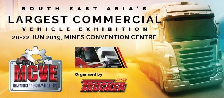 MALAYSIA COMMERCIAL VEHICLE EXPO (MCVE 2019) June 2019