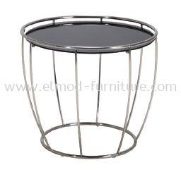 ST63 Glass Top With Stainless Steel Base