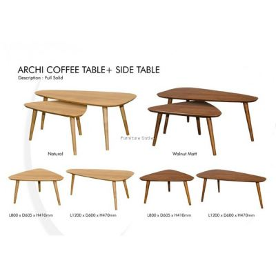ARCHI (8560) COFFEE + SIDE TABLE MALAYSIA