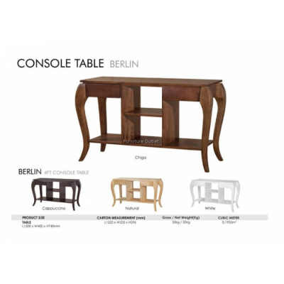 BERLIN CONSOLE TABLE (NEW) MALAYSIA