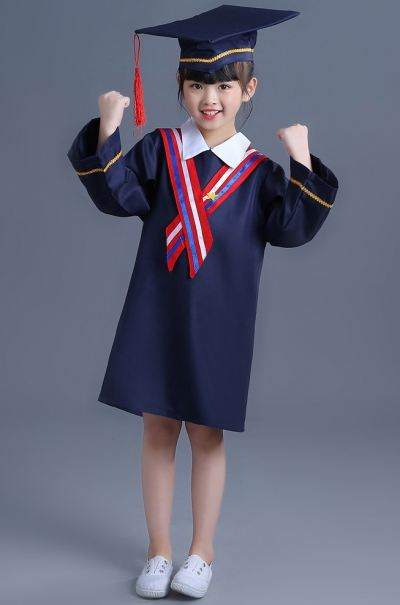 YY18-10  YY Graduation Gown Set E
