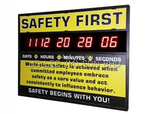 Safety Hour Display