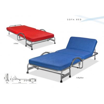 DELUXE EXTRA FOLDING SINGLE BED MALAYSIA